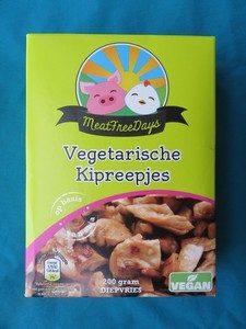 Aldi vegan kipstukjes
