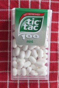 Tic-Tac, vegan