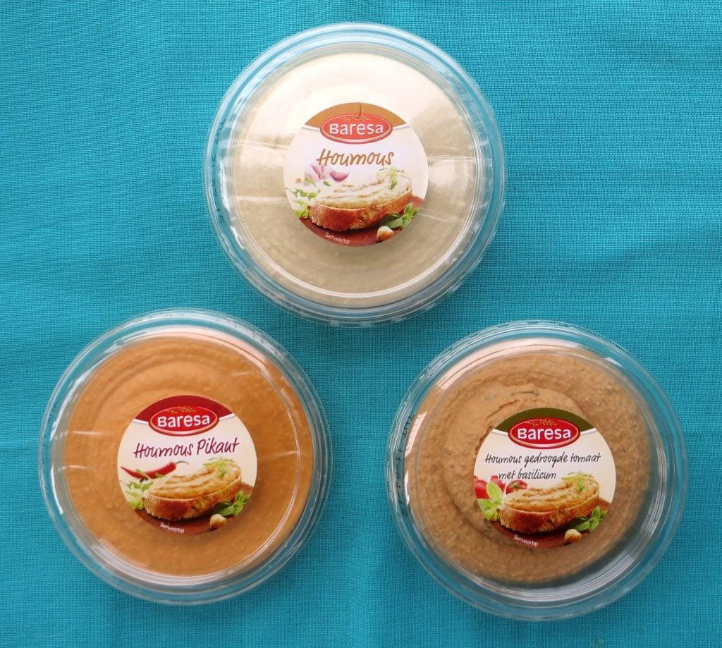 Lidl hummus, vegan