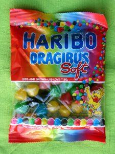 Haribo Dragibus, vegan