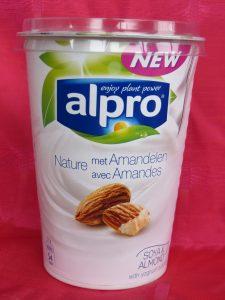 Alpro amandelyoghurt