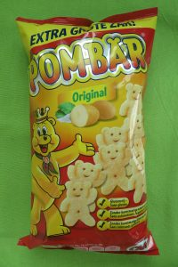 Pom-bär chips, vegan
