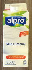 Alpro Mild&Creamy yoghurt ongezoet, vegan