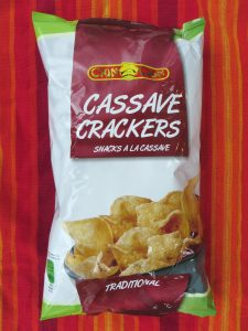 Cassave chips, vegan