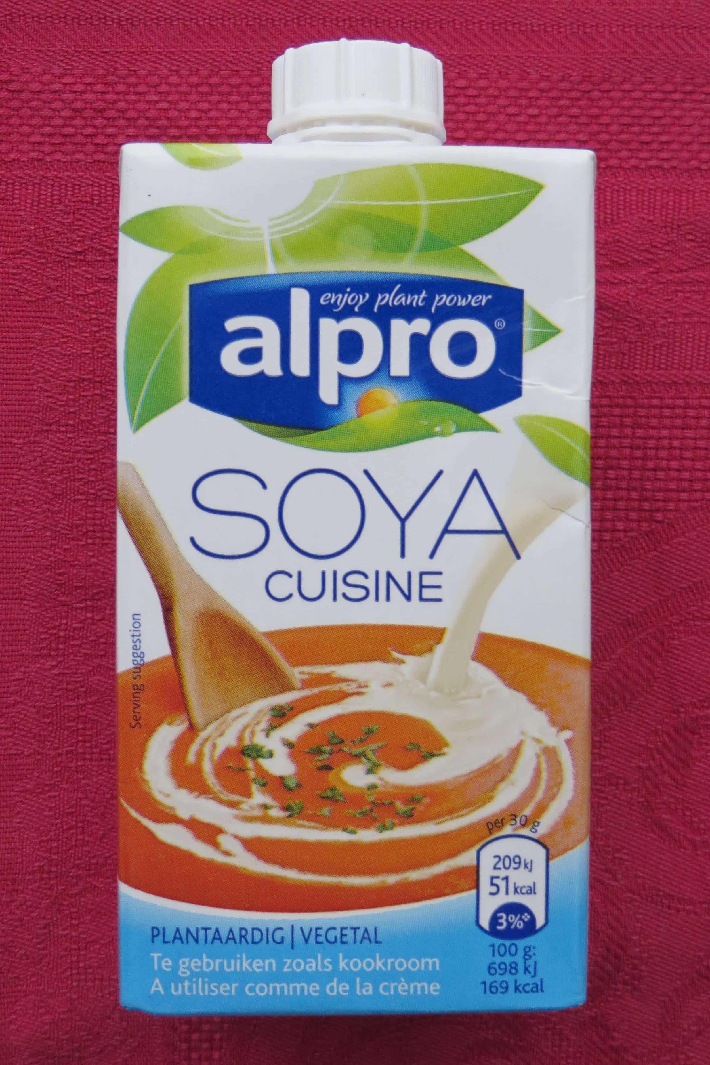 Alpro sojakookroom gewoon vegan for Alpro soja cuisine
