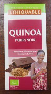 Ethiquable chocola met quinoa, vegan