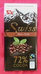 Swiss Noir koffie chocola, vegan