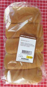 Vegan witte puntjes van Vomar