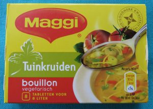 Maggi tuinkruidenbouillon, vegan