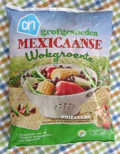 AH Mexicaanse wokmix met kidneybonen, vegan