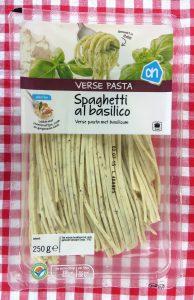 AH verse basilicum spaghetti, vegan