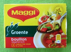 Maggi groentebouillon, vegan