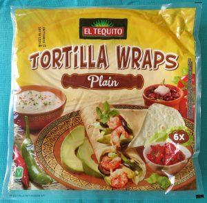 Lidl tortillawraps, vegan