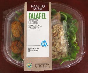 AH maaltijdsalade met falafel, vegan
