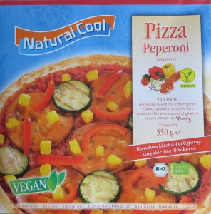 Natural Cool vegan diepvriespizza peperoni