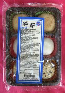 Japanse mochi, vegan