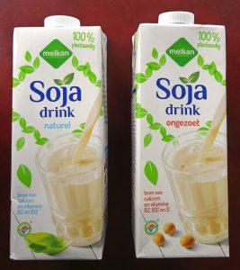 Melkan sojamelk, vegan