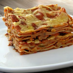 Honig lasagne, vegan