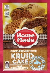 Homemade kruidcake mix, vegan