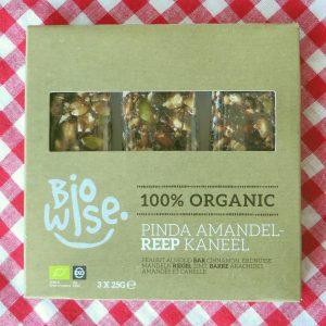 BioWise pinda amandelreep, vegan