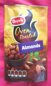 Duyvis oven roasted almonds, vegan