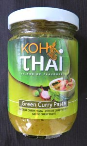 Koh Thai currypasta, vegan