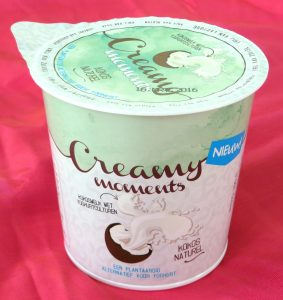 Creamy moments kokosyoghurt, vegan