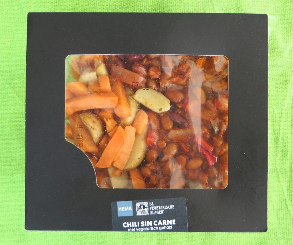 Vegetarisch Slager Chili sin Carne, vegan