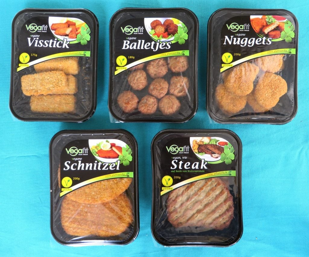 Vegafit vleesvervangers, vegan
