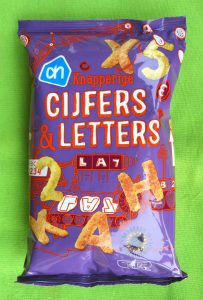 AH Cijfers en Letters chips, vegan