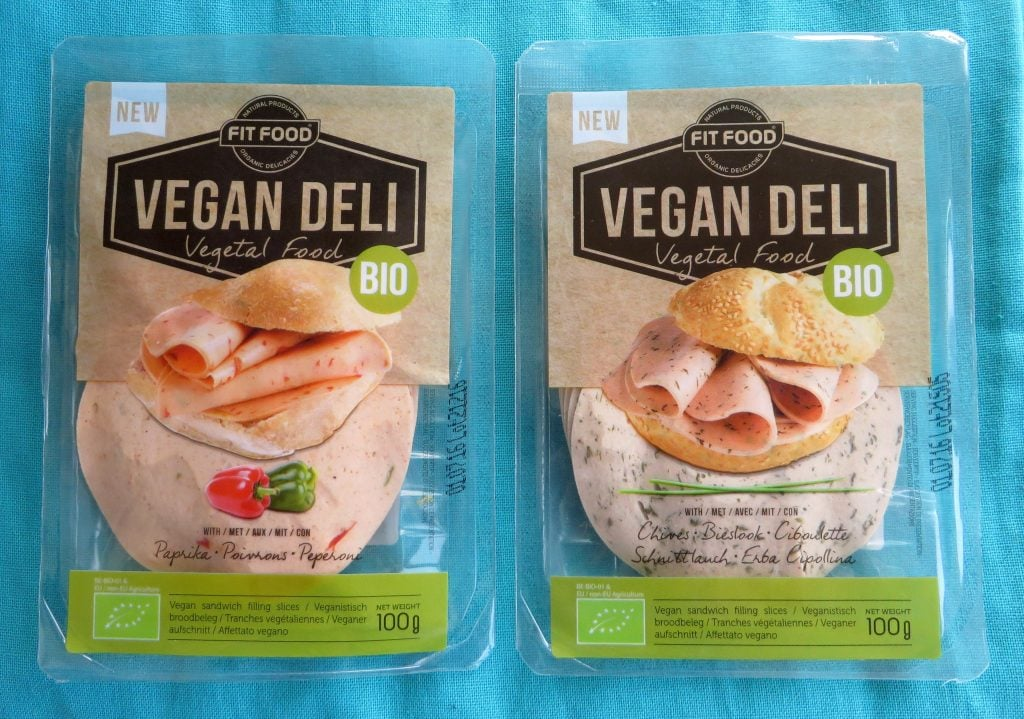 Vegan deli slices boterhamworst