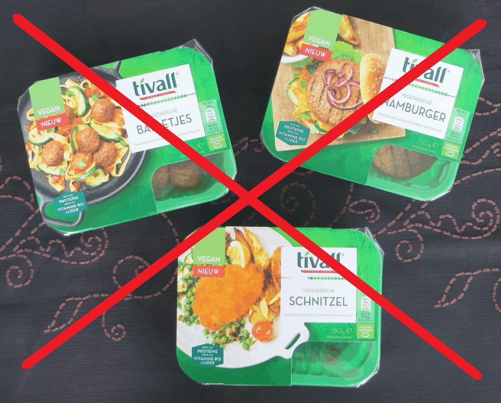Tivall niet meer vegan