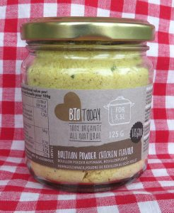 Bio Today vegan bouillon met kipsmaak
