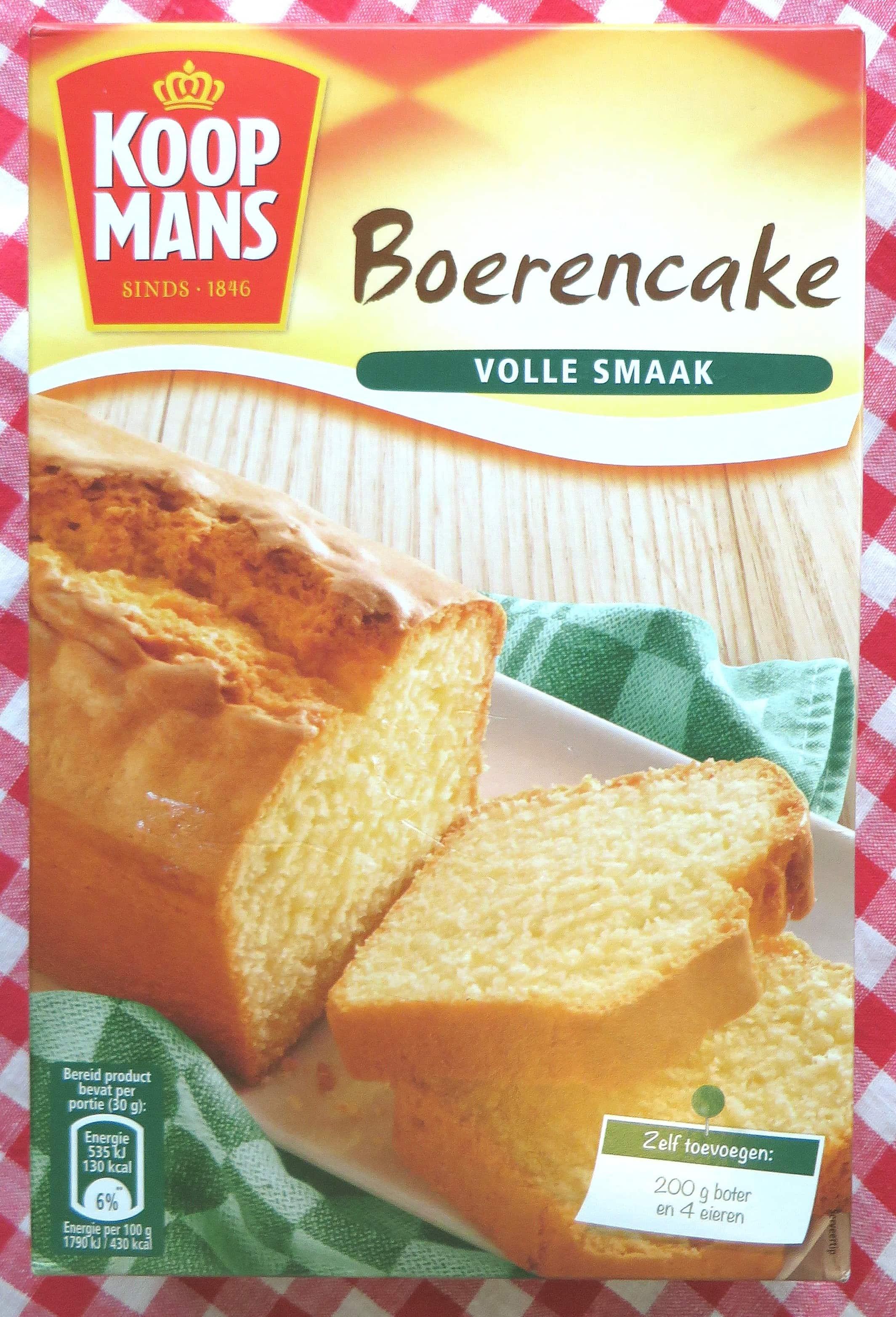 koopmans boerencake recept