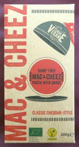 Terra Vegane mac&cheese, vegan