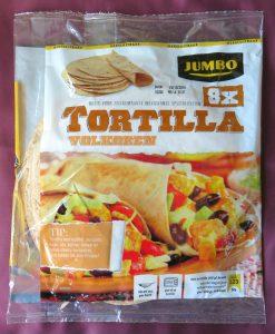 Jumbo volkoren tortillawraps, vegan