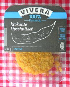 Vivera krokante kipschnitzel, vegan