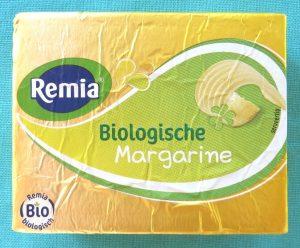 Remia biologische margarine, vegan