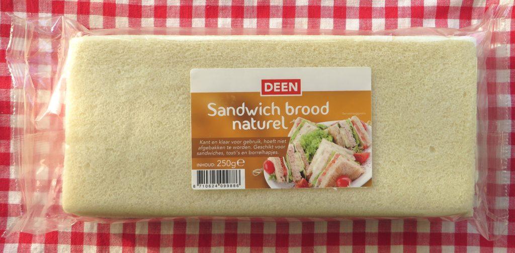 Deen sandwichbrood, vegan