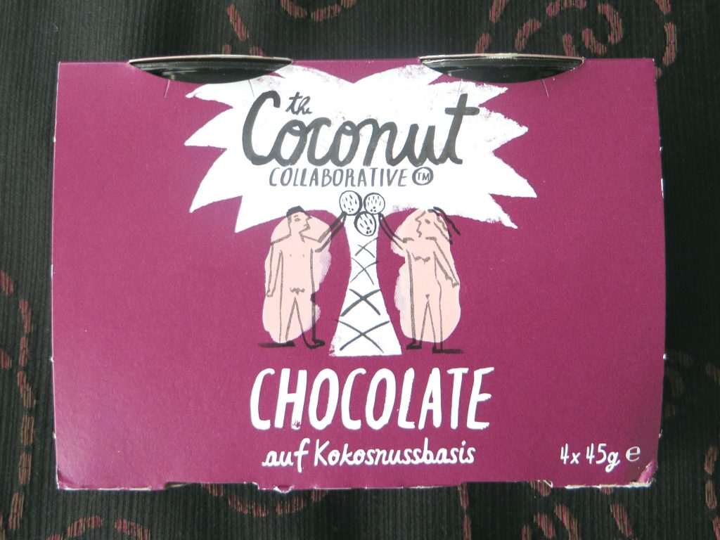 Coconut colaborative chocomousse, vegan