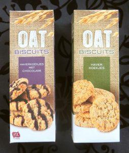 Oat koekjes, vegan