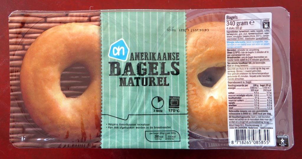 AH bagels, vegan