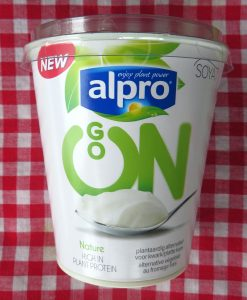 Alpro Go On alternatief voor kwark, vegan
