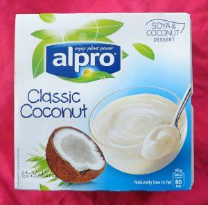 Alpro kokosdessert, vegan