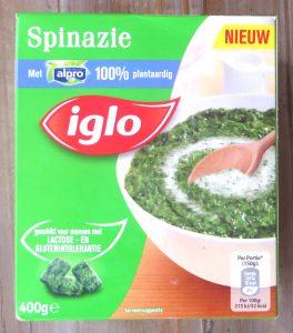 Iglo spinazie met Alpro, vegan