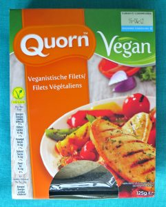 Vegan Quorn filet