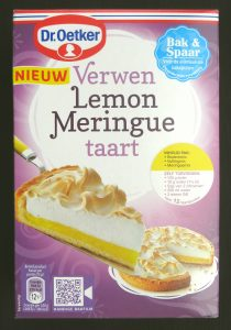 Dr Oetker lemon meringue taart, vegan