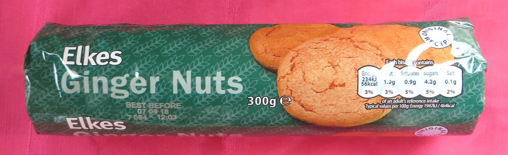 Ginger nuts, vegan