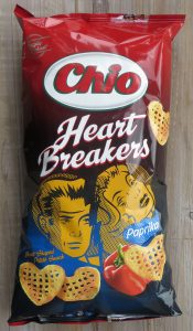 Chio heartbreakers paprika, vegan