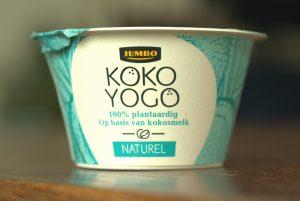 Koko yogo, vegan